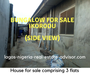 Bungalow for sale Ikorodu Nigeria