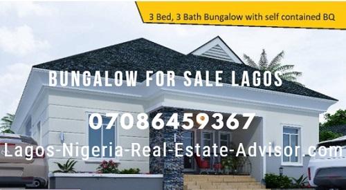Bungalow For Sale Lekki Lagos Nigeria