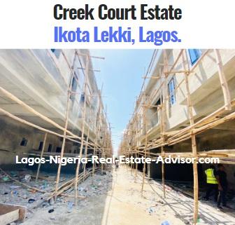 Creek Court Estate Ikota Lekki Lagos