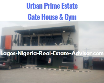 Urban Prime Two Estate Lavadia In Ajah Lagos: Gym And Gate house