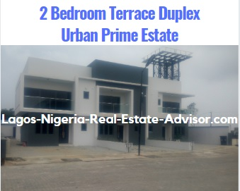 Urban Prime Two Estate In Ajah Lagos - The Lavadia: 2 Bedroom Terrace Duplex