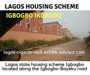 Lagos state housing scheme Igbogbo