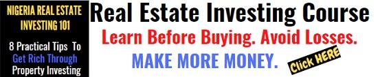 Real Estate Investing Course Nigeria