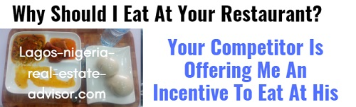 Restaurant Marketing Incentive Lagos Nigeria