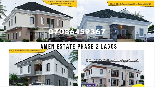 Amen Estate Phase 2 Ibeju Lekki Lagos Nigeria