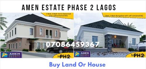 Amen Estate Lekki Lagos