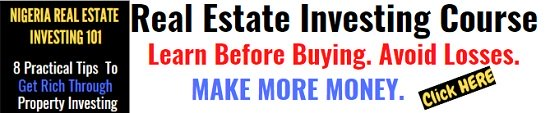 Real Estate Investing Course Nigeria